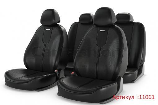 Универсальные авточехлы на передние и задние сиденья Carfashion модель Gals Plus (11061)