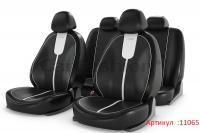 Универсальные авточехлы на передние и задние сиденья Carfashion модель Gals Plus (11065)