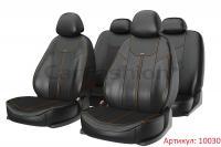 Универсальные авточехлы на передние и задние сиденья Carfashion модель Mustang Plus (10030)
