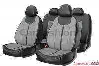 Универсальные авточехлы на передние и задние сиденья Carfashion модель Mustang Plus (10032)