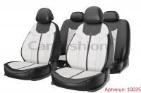 Универсальные авточехлы на передние и задние сиденья Carfashion модель Mustang Plus (10035)