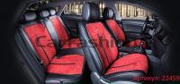 Универсальные авточехлы на передние и задние сиденья Carfashion модель Stalker Plus (22459)