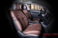 Универсальные авточехлы на передние сиденья Carfashion модель Stalker Front (21055)