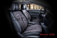 Универсальные авточехлы на передние сиденья Carfashion модель Stalker Front (21056)