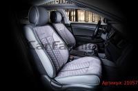 Универсальные авточехлы на передние сиденья Carfashion модель Stalker Front (21057)
