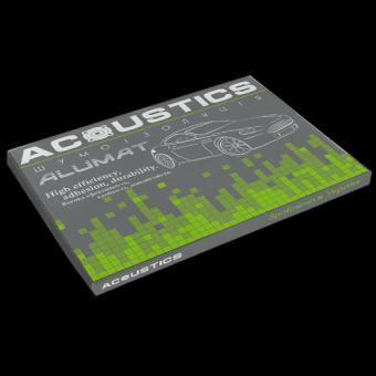Виброизоляция для автомобиля Acoustics Alumat 3,0мм лист 700х500мм