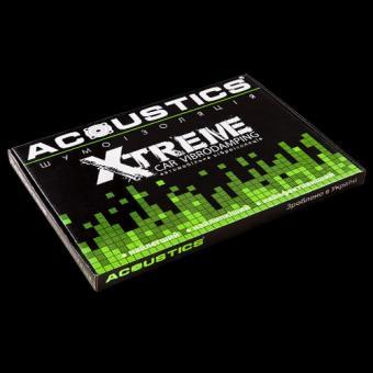 Виброизоляция для автомобиля Acoustics Xtreme 3,0мм лист 370х500мм
